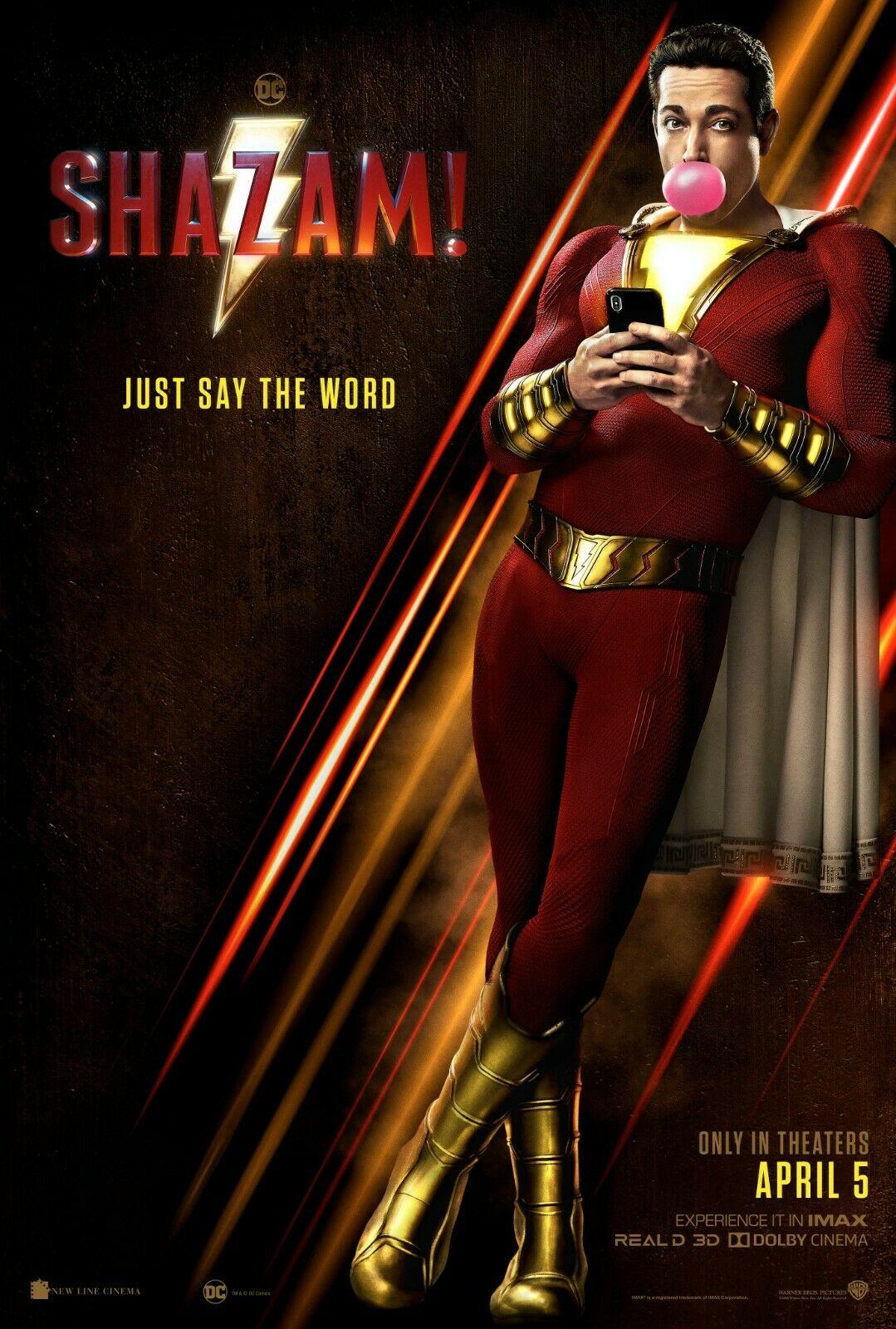 Resultado de imagen para shazam! movie promotional